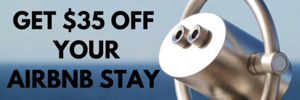 Get $35 off your Airbnb stay