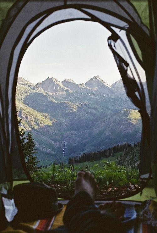 camping mountains