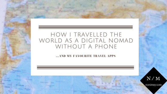 How I travelled the world as a digital nomad without a phone. Travel apps every world traveller needs. Planning a world trip? These are the apps you need to download before departure. Travel tech inspiration & make it easier to plan your holiday!