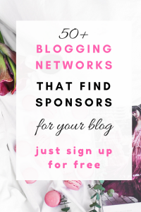 50 blogging netowrks that find sponsors for your blog just signup for free50 blogging netowrks that find sponsors for your blog just signup for free