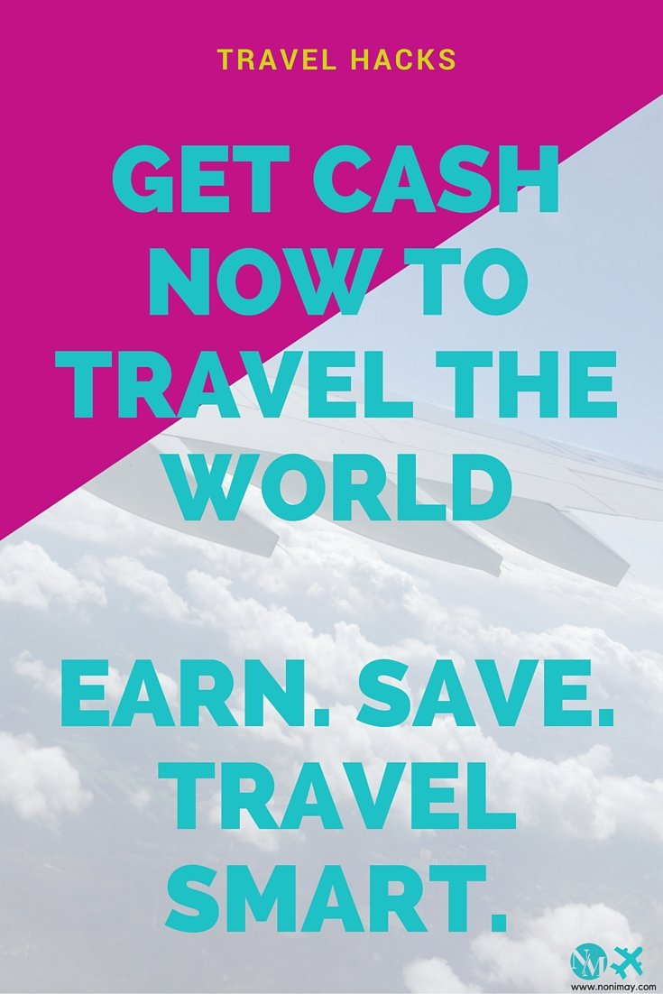 It's not always about saving money, because sometimes it's hard to even get a job, then it's more important to travel smarter and learn how to make more money and travel cheap.