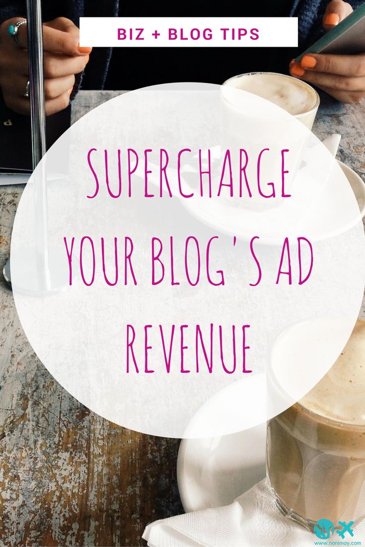Supercharge your blog's ad revenue