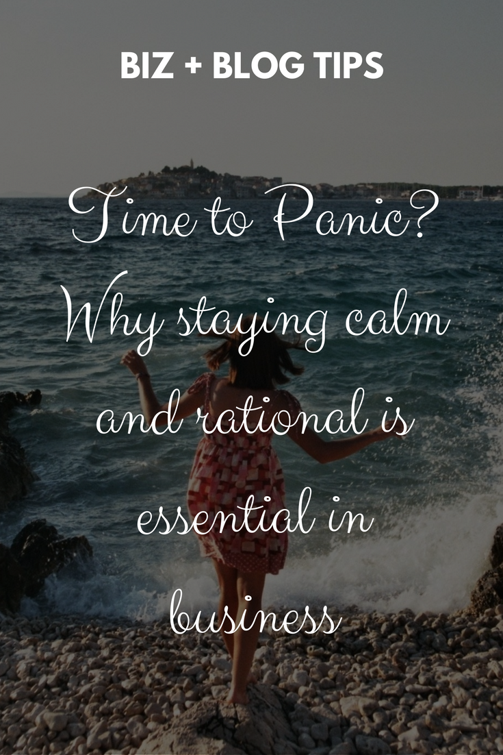 Time to Panic? Why staying calm and rational is essential in business