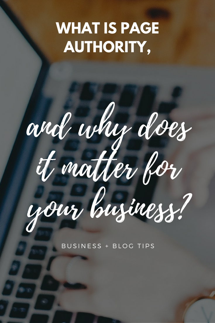 What is page authority, and why does it matter for your business?