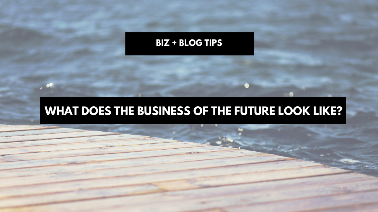 What Does The Business Of The Future Look Like?