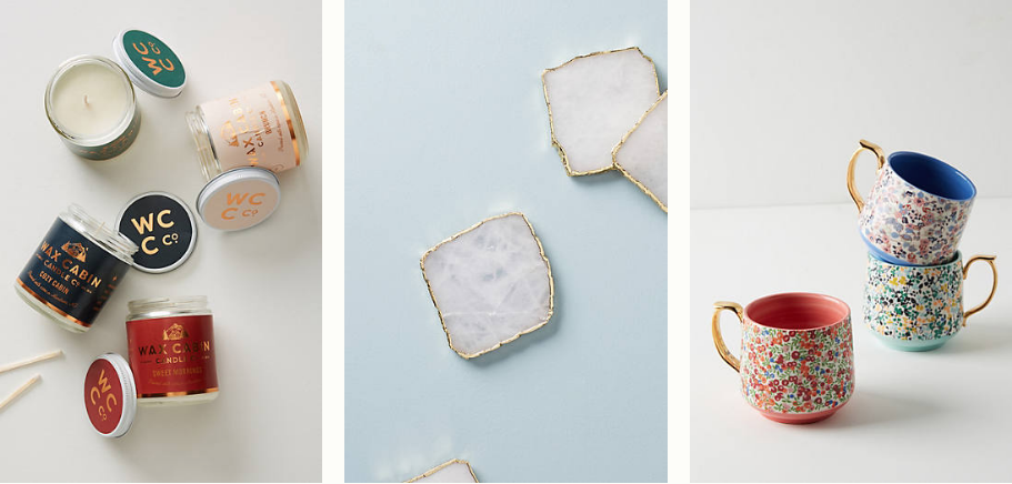 Amazing Anthropologie gifts for literally every person in your life under $25. Gifts for someone who has everything! 11