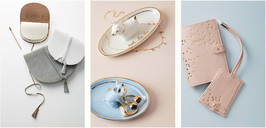Amazing Anthropologie gifts for literally every person in your life under $25. Gifts for someone who has everything! 12