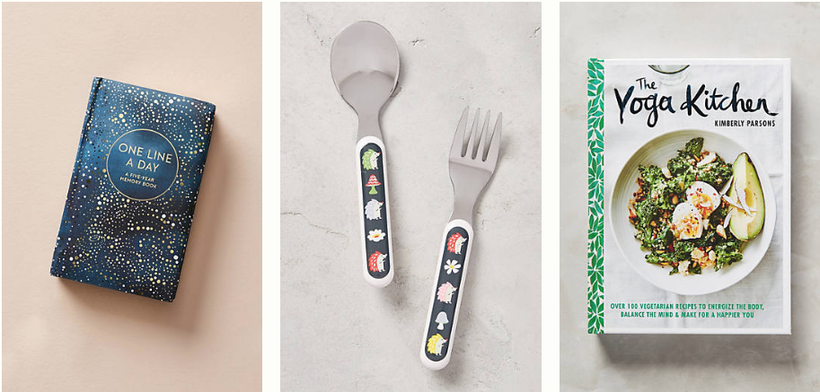 Amazing Anthropologie gifts for literally every person in your life under $25. Gifts for someone who has everything! 3