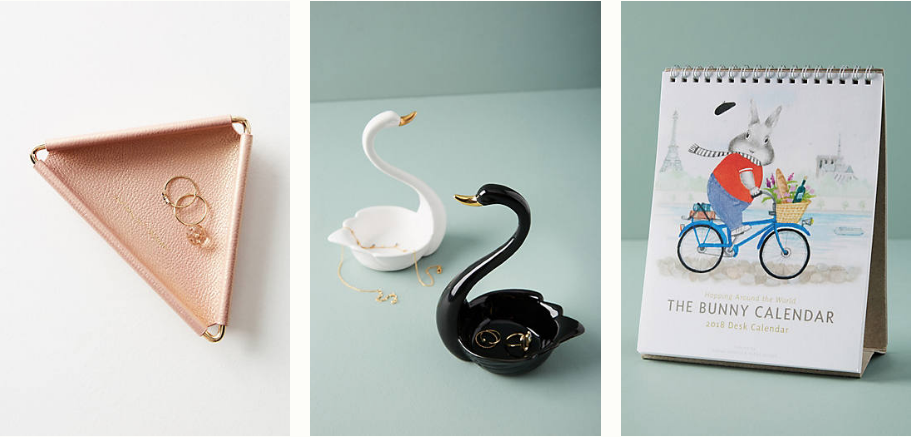 Amazing Anthropologie gifts for literally every person in your life under $25. Gifts for someone who has everything! 7