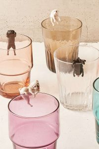 Urban Outfitter Gifts Under $25 all bloggers will love bloggers gift guide. Kitan Club's Putittio Series Pug Dog Figure glasses