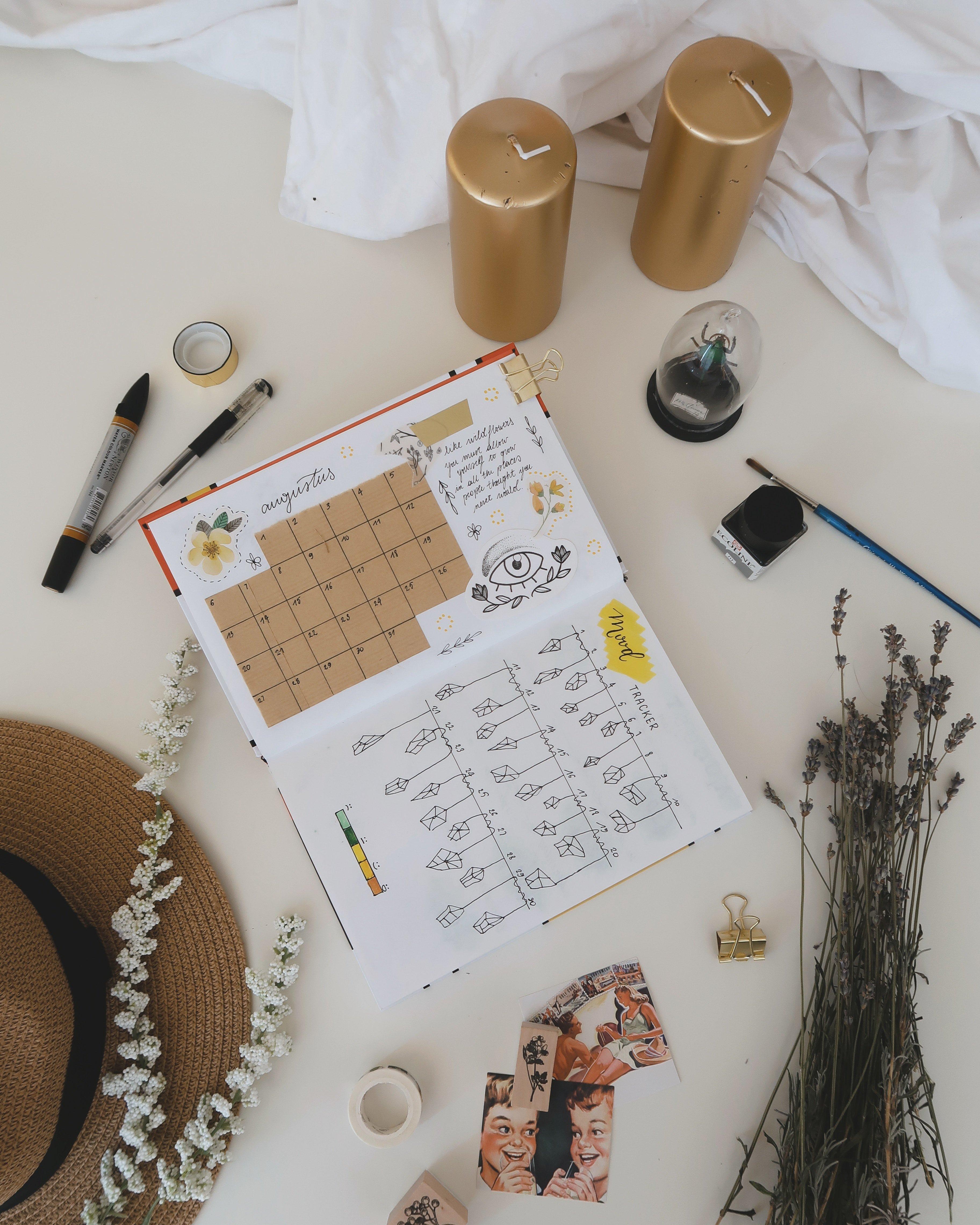 Bullet journal gift guide for journalers gift ideas